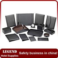 Buy cheap Customized leatherette hotel guest service directory from wholesalers