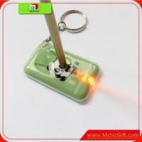 Buy cheap customized quality allen double sided led finger keychain light,key set product