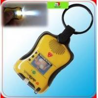 Buy cheap factory price cheap customized PVC plastic led keyring torch,pvc keyring torch from wholesalers