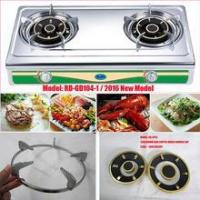 Buy cheap (RD-GD104-1) 2 burner Stainless steel gas cooker gas stove gas cooktop from wholesalers