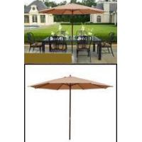 Buy cheap 13' FT OUTDOOR PATIO BEACH UMBRELLA MARKET WOOD BEIGE from wholesalers