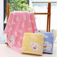 Buy cheap Cotton Yarn Dyed Baby Bath Towel from wholesalers