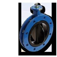 Buy cheap Rubber Seat Flange Butterfly Valve product