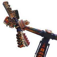 Buy cheap Amusement Park Thrilling Rides Power Wind Fire Wheel from wholesalers