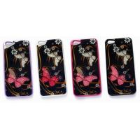 Buy cheap Crystal Butterfly Mobile Phone Case for iPhone 4/5 Model:MB821 from wholesalers