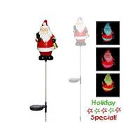Buy cheap Fancy solar Christmas stake light from wholesalers