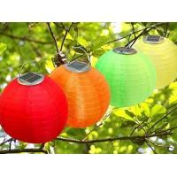 Buy cheap Holiday decoration solar Chinese lantern light from wholesalers