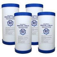 Buy cheap Four 4.5 x 10 Inch Melt Blown (5 Micron) Water Filter Cartridges from wholesalers