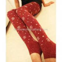 Buy cheap Fashion women Polyester legging Cotton tights from wholesalers