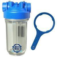 Buy cheap Premier Whole House Water Filter Housing 4.5 x 10 with Wrench from wholesalers