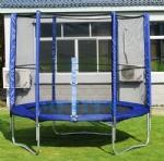 Buy cheap 8ft Trampoline with Enclosure and Ladder from wholesalers