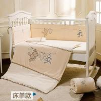 Buy cheap 100% Cotton Plain Color Cute & Cuddly Bear Baby Crib Cover from wholesalers