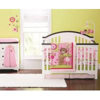 Buy cheap 3D Cartoon 4-14 PCS Baby Bedding Set 100% Cotton Crib Baby Girl Cot Sets from wholesalers