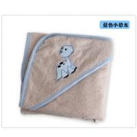 Buy cheap 100% Organic Cotton Terry Bath Towel Baby Hooded Swaddle Blanket from wholesalers