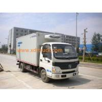 Buy cheap Foton Euro4 Economical Refrigerator Freezer Truck from wholesalers