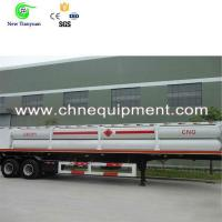 Buy cheap 559MM OD Jumbo Tubes Natural Gas Container Semi Trailer from wholesalers