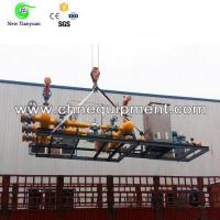 Skid Mounted Gas Pressure Regulating Device with Gas Odorizing, Measuring Functions