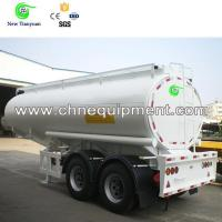 Buy cheap 40ft Cryogenic Liquid Mobile Skid LNG LPG Tank Semi Trailer from wholesalers