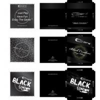 Buy cheap Anne condom design- black condom from wholesalers
