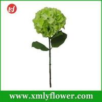 Buy cheap Wholesale Single Hydrangea Artificial Flower for Home Decoration Silk Flower from wholesalers
