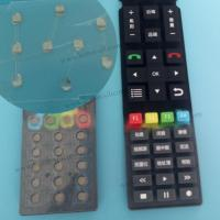 Buy cheap Custom TV Remote Control Silicone Rubber Keypad from wholesalers
