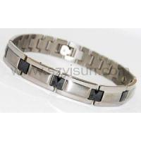 Buy cheap Titanium magnetic bracelet germanium from wholesalers
