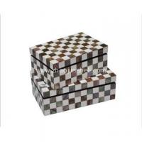 Buy cheap Natural Craft Pen Shell Mother of Pearl Storage Box from wholesalers