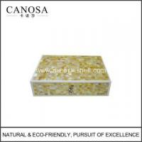 Buy cheap Star Hotel Mosaic Mother of Pearl Amenity Boxes from wholesalers