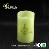 China Wholesale real wax fountain flameless led candle with Timer free shipping DHL express on sale
