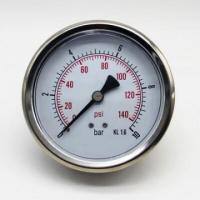 Buy cheap bimetal temperature gauge manometer for water dial tyre pressure gauge from wholesalers