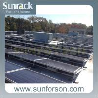 Buy cheap Railless Flat Roof Solar Mounting Structures from wholesalers