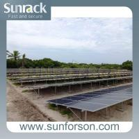 Buy cheap Commercial Solar Panel Ground Mount Racking Systems from wholesalers