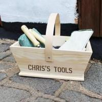 Buy cheap Personalised Gardeners Trug from wholesalers
