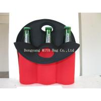Neoprene six pack bottle wine sleeves