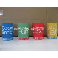 Buy cheap custom printing 3mm Neoprene sturby can cooler from wholesalers