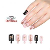 China Everlastingbeauty brand 2017 design pink nail tips artificial cheap christmas nails on sale