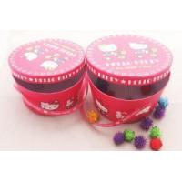 Buy cheap Round Box Customized Necklace jewelry gift box candy package box from wholesalers