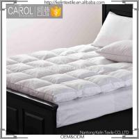 Buy cheap Anti-pull Stitching Woven Goose Down Mattress Topper from wholesalers