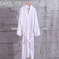 Terry Towel Breathable Quick Dry Thermal Plus Size Waffle Collar Hotel Bathrobe