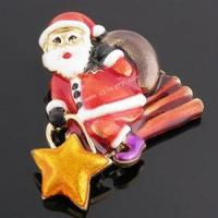 Buy cheap Brand series Santa Claus brooch 1 from wholesalers