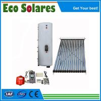 Buy cheap Split-Pressurized solar water heater with heat pipe collector from wholesalers