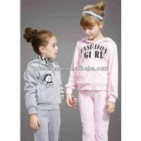 Buy cheap Personalized Your Own Brand Kids Clothes High Quality Girls Clothing Set from wholesalers