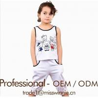 Buy cheap Little Girls Short Outfit Designer Clothes Set from wholesalers
