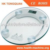 Buy cheap Tempered glass digital electronic LCD weighing bathroom scale from wholesalers