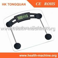 Buy cheap Electronic bathroom scales hot sale item with clear glass from wholesalers