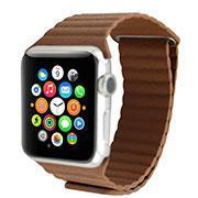 Buy cheap Luxury Magnetic Leather loop Watch Band For iWatch from wholesalers