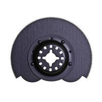 Buy cheap Half moon type oscillating blade for wood from wholesalers
