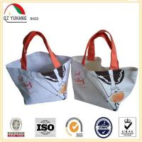 Buy cheap Printed Shoe Bag Cotton Recyclable Packing Bags For woman from wholesalers