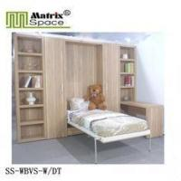 Buy cheap Kids Vertical Bed /Multifunctional Foldable Bookcase Wall Bed Unit/Melamine finish from wholesalers