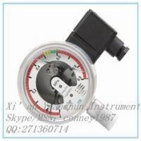Buy cheap customizable Manometer for sf6 Stainless steel gas pressure gauge manufacturer from wholesalers